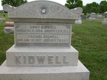 KIDWELL, RACHEL - Union County, Ohio | RACHEL KIDWELL - Ohio Gravestone Photos