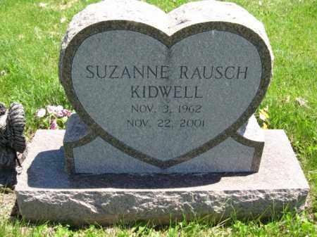 KIDWELL, SUZANNE RAUSCH - Union County, Ohio | SUZANNE RAUSCH KIDWELL - Ohio Gravestone Photos