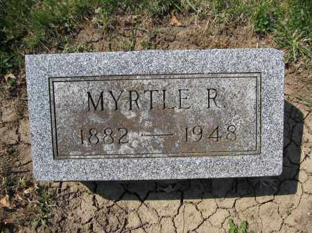 KILGORE, MYRTLE R. HANAWALT - Union County, Ohio | MYRTLE R. HANAWALT KILGORE - Ohio Gravestone Photos