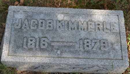 KIMMERLE, JACOB - Union County, Ohio | JACOB KIMMERLE - Ohio Gravestone Photos