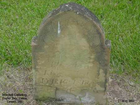"KING, ELIZABETH ""BETSY"" - Union County, Ohio 