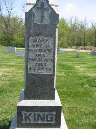 KING, MARY - Union County, Ohio | MARY KING - Ohio Gravestone Photos