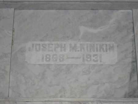 KINIKIN, JOSEPH M. - Union County, Ohio | JOSEPH M. KINIKIN - Ohio Gravestone Photos