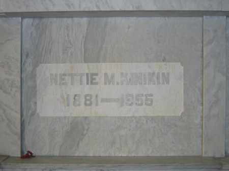 KINIKIN, NETTIE M. - Union County, Ohio | NETTIE M. KINIKIN - Ohio Gravestone Photos