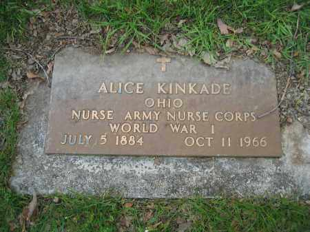 KINKADE, ALICE - Union County, Ohio | ALICE KINKADE - Ohio Gravestone Photos