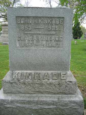 KINKADE, CLARA - Union County, Ohio | CLARA KINKADE - Ohio Gravestone Photos
