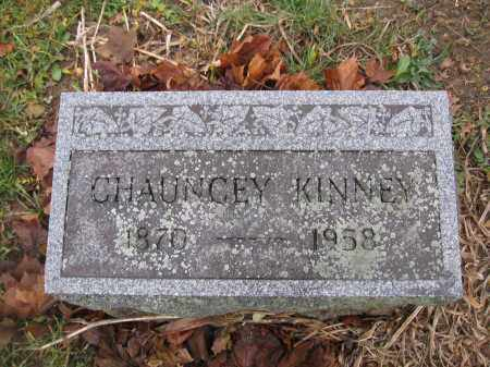 KINNEY, CHAUCEY - Union County, Ohio | CHAUCEY KINNEY - Ohio Gravestone Photos