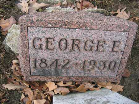 KINNEY, GEORGE E. - Union County, Ohio | GEORGE E. KINNEY - Ohio Gravestone Photos