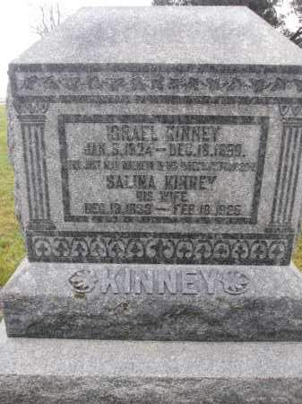 KINNEY, ISRAEL - Union County, Ohio | ISRAEL KINNEY - Ohio Gravestone Photos