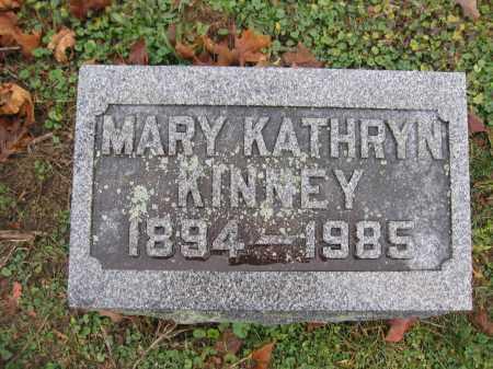 KINNEY, MARY KATHRYN - Union County, Ohio | MARY KATHRYN KINNEY - Ohio Gravestone Photos