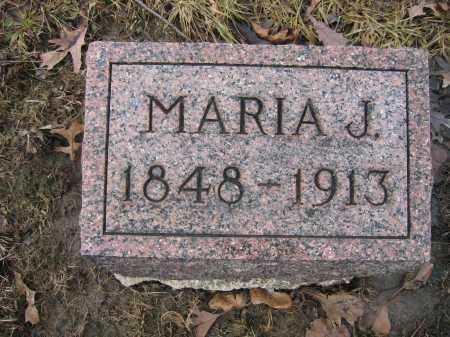 KINNEY, MARIA J. - Union County, Ohio | MARIA J. KINNEY - Ohio Gravestone Photos