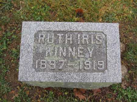 KINNEY, RUTH IRIS - Union County, Ohio | RUTH IRIS KINNEY - Ohio Gravestone Photos