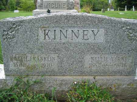 KINNEY, NELLIE VERNE - Union County, Ohio | NELLIE VERNE KINNEY - Ohio Gravestone Photos