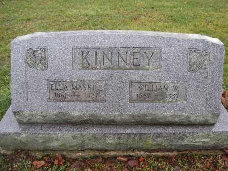 KINNEY, ELLA MASKILL - Union County, Ohio | ELLA MASKILL KINNEY - Ohio Gravestone Photos