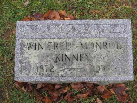 KINNEY, WINIFRED MONROE - Union County, Ohio | WINIFRED MONROE KINNEY - Ohio Gravestone Photos