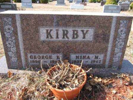 KIRBY, GEORGE E. - Union County, Ohio | GEORGE E. KIRBY - Ohio Gravestone Photos
