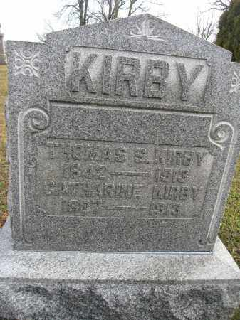 KIRBY, THOMAS S. - Union County, Ohio | THOMAS S. KIRBY - Ohio Gravestone Photos