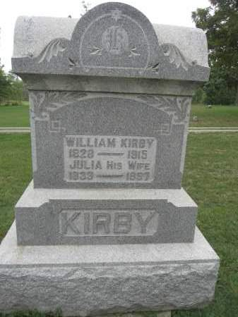 KIRBY, JULIA - Union County, Ohio | JULIA KIRBY - Ohio Gravestone Photos