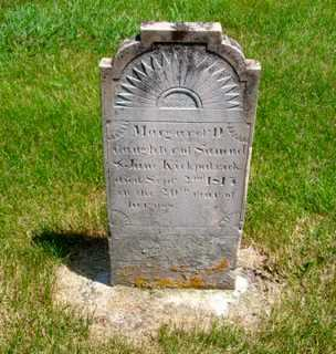 KIRKPATRICK, MARGARET D. 'PEGGY' - Union County, Ohio | MARGARET D. 'PEGGY' KIRKPATRICK - Ohio Gravestone Photos