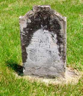 KIRKPATRICK, SAMUEL - Union County, Ohio | SAMUEL KIRKPATRICK - Ohio Gravestone Photos