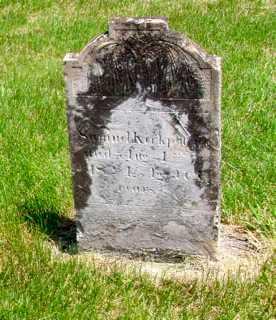 KIRKPATRICK, SAMUEL - Union County, Ohio | SAMUEL KIRKPATRICK - Ohio Gravestone Photos