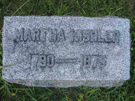KISHLER, MARTHA - Union County, Ohio | MARTHA KISHLER - Ohio Gravestone Photos