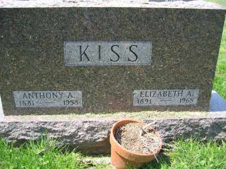 KISS, ELIZABETH A - Union County, Ohio | ELIZABETH A KISS - Ohio Gravestone Photos