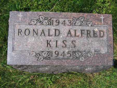 KISS, RONALD ALFRED - Union County, Ohio | RONALD ALFRED KISS - Ohio Gravestone Photos