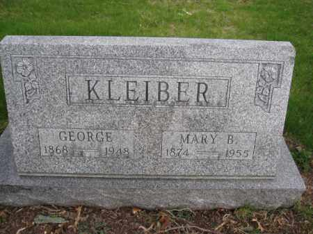 KLEIBER, GEORGE - Union County, Ohio | GEORGE KLEIBER - Ohio Gravestone Photos