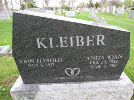 KLEIBER, ANITA JOAN - Union County, Ohio | ANITA JOAN KLEIBER - Ohio Gravestone Photos