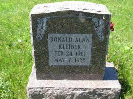 KLEIBER, RONALD ALAN - Union County, Ohio | RONALD ALAN KLEIBER - Ohio Gravestone Photos