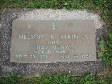 KLEIN, NELSON B. - Union County, Ohio | NELSON B. KLEIN - Ohio Gravestone Photos
