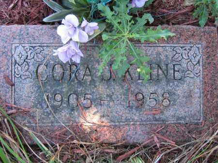 KLINE, CORA J. - Union County, Ohio | CORA J. KLINE - Ohio Gravestone Photos