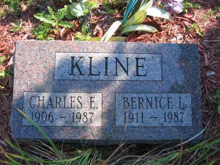 KLINE, CHARLES E. - Union County, Ohio | CHARLES E. KLINE - Ohio Gravestone Photos