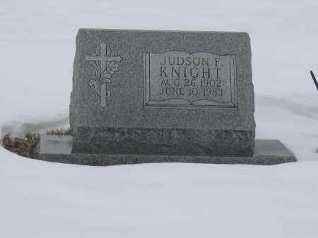 KNIGHT, JUDSON F. - Union County, Ohio | JUDSON F. KNIGHT - Ohio Gravestone Photos