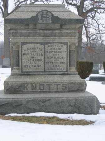 KNOTTS, RACHEL H. - Union County, Ohio | RACHEL H. KNOTTS - Ohio Gravestone Photos