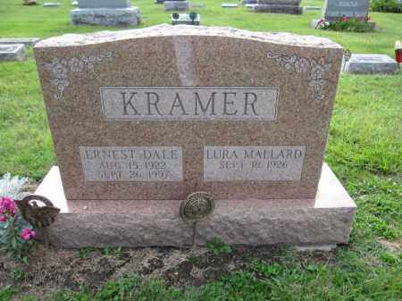 KRAMER, LURA MALLARD - Union County, Ohio | LURA MALLARD KRAMER - Ohio Gravestone Photos