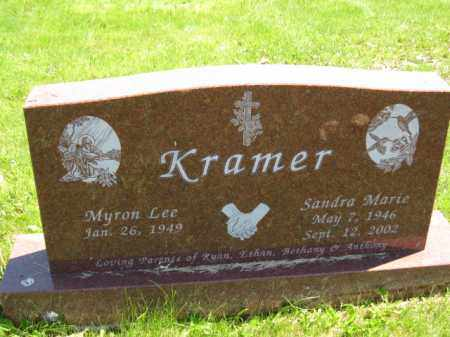 KRAMER, SANDRA MARIE - Union County, Ohio | SANDRA MARIE KRAMER - Ohio Gravestone Photos