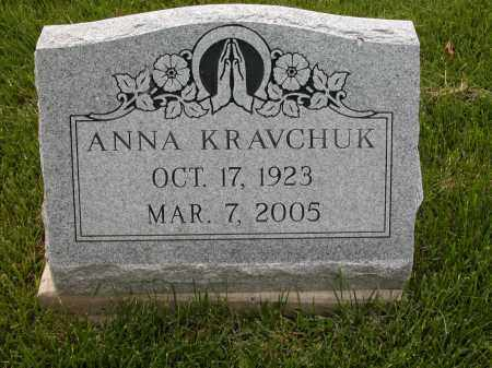 KRAVCHUK, ANNA - Union County, Ohio | ANNA KRAVCHUK - Ohio Gravestone Photos