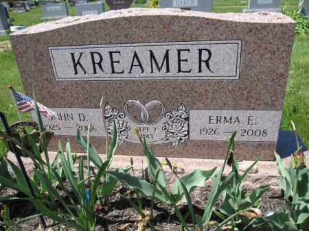 KREAMER, JOHN D. - Union County, Ohio | JOHN D. KREAMER - Ohio Gravestone Photos