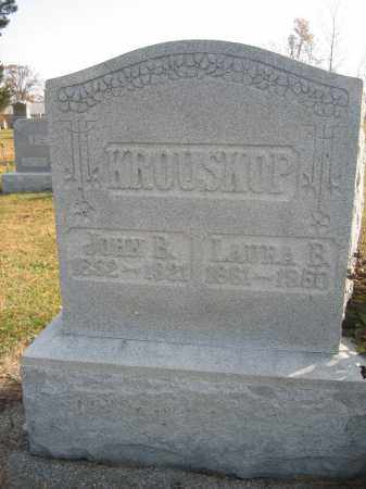 KROUSKOP, JOHN B. - Union County, Ohio | JOHN B. KROUSKOP - Ohio Gravestone Photos