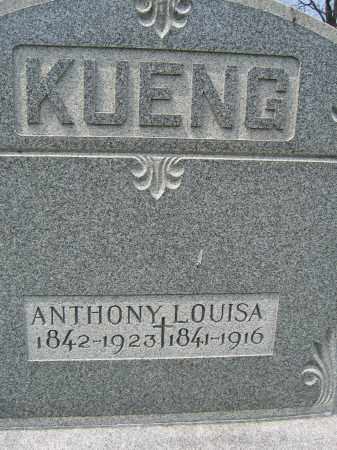 KUENG, LOUISA - Union County, Ohio | LOUISA KUENG - Ohio Gravestone Photos