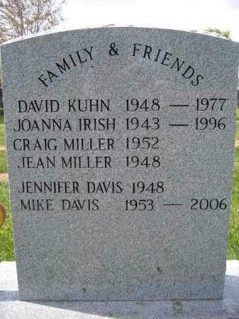 IRISH, JOANNA - Union County, Ohio | JOANNA IRISH - Ohio Gravestone Photos