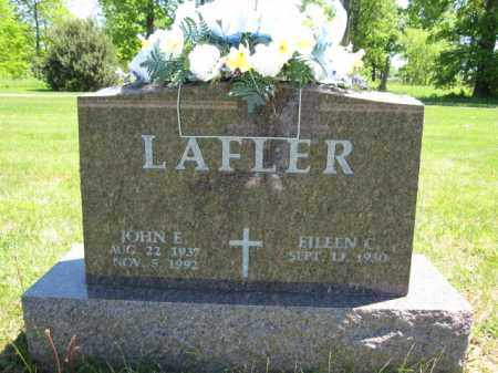 LAFLER, JOHN E. - Union County, Ohio | JOHN E. LAFLER - Ohio Gravestone Photos