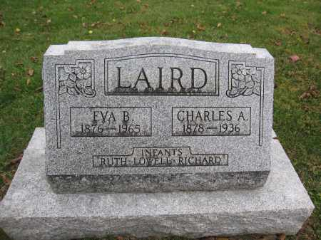 LAIRD, EVA B. WHITE - Union County, Ohio | EVA B. WHITE LAIRD - Ohio Gravestone Photos