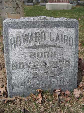 LAIRD, HOWARD - Union County, Ohio | HOWARD LAIRD - Ohio Gravestone Photos