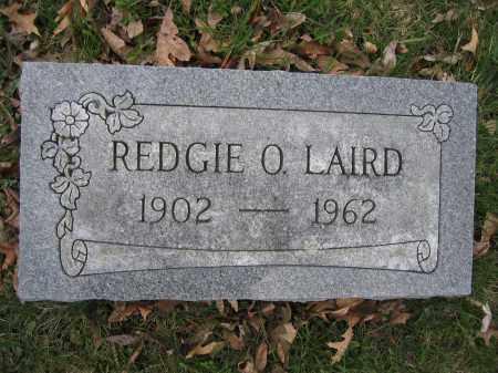 LAIRD, REDGIE O. - Union County, Ohio | REDGIE O. LAIRD - Ohio Gravestone Photos