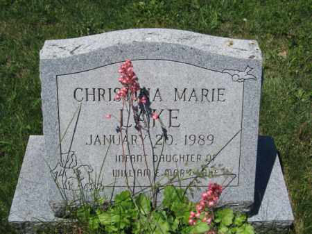 LAKE, CHRISTINA MARIE - Union County, Ohio | CHRISTINA MARIE LAKE - Ohio Gravestone Photos