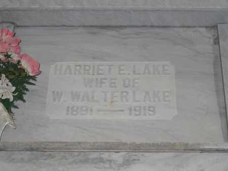 LAKE, HARRIET E. - Union County, Ohio | HARRIET E. LAKE - Ohio Gravestone Photos