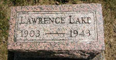 LAKE, LAWRENCE - Union County, Ohio | LAWRENCE LAKE - Ohio Gravestone Photos